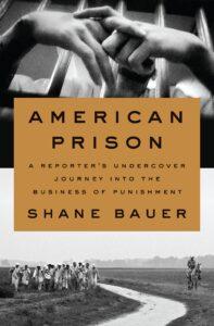 Book Cover page for American Prison