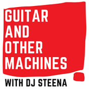 Guitar and other machines red square logo