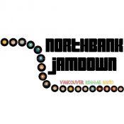 Northbank Jamdown logo with vinyl record design